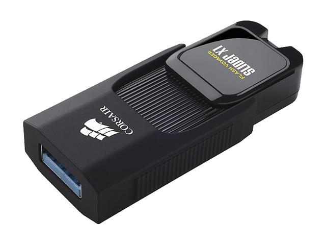 Corsair 64GB Voyager Slider X1 USB 3.0 Flash Drive, Speed Up to 130MB/s (CMFSL3X1-64GB)