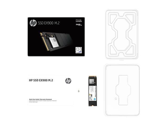 HP EX900 M.2 500GB PCIe 3.0 x4 NVMe 3D TLC NAND Internal Solid State Drive (SSD) 2YY44AA#ABC