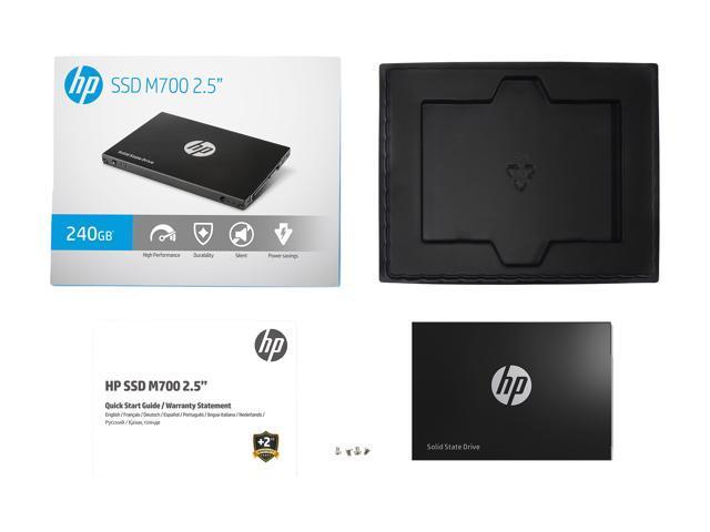 "HP M700 2.5"" 240GB SATA III Planar MLC NAND Flash Internal Solid State Drive (SSD) 3DV74AA#ABC"
