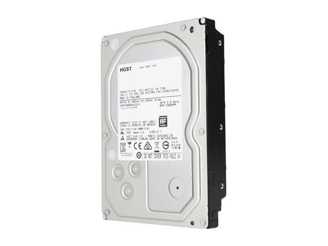 "HGST DeskStar NAS 3.5"" 6TB 7200 RPM 128MB Cache SATA 6.0Gb/s High-Performance Hard Drive for Desktop NAS Systems Retail Packaging 0S04007"