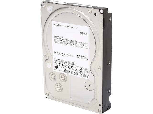 "Refurbished: HGST/Hitachi Ultrastar A7K2000 HUA722020ALA331 2TB 7200 RPM 32MB Cache SATA 3.0Gb/s 3.5"" Internal Hard Drive"