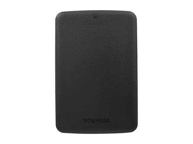TOSHIBA 2TB Canvio Basics Portable Hard Drive USB 3.0 Model HDTB320XK3CA Black