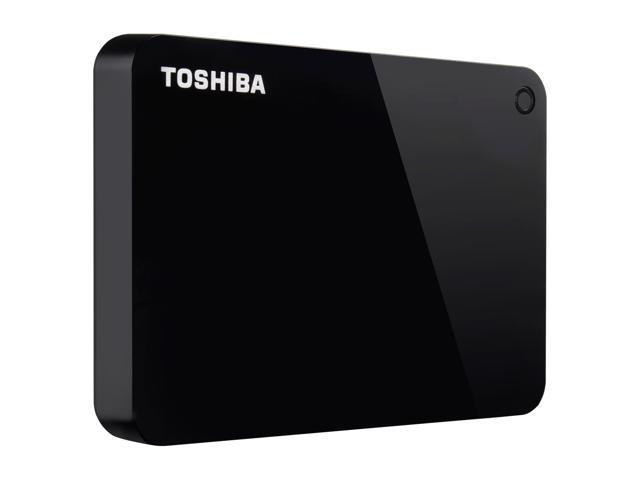 Toshiba Canvio Advance 2TB Portable External Hard Drive USB 3.0 Black - HDTC920XK3AA