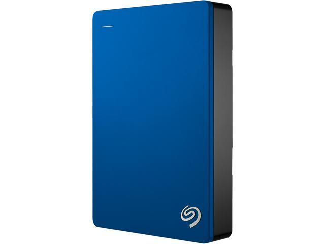 Seagate Backup Plus 5TB USB 3.0 Portable External Hard Drive - STDR5000102 (Blue)