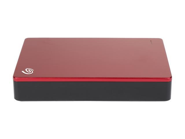 Seagate Backup Plus 5TB USB 3.0 Portable External Hard Drive - STDR5000103 (Red)