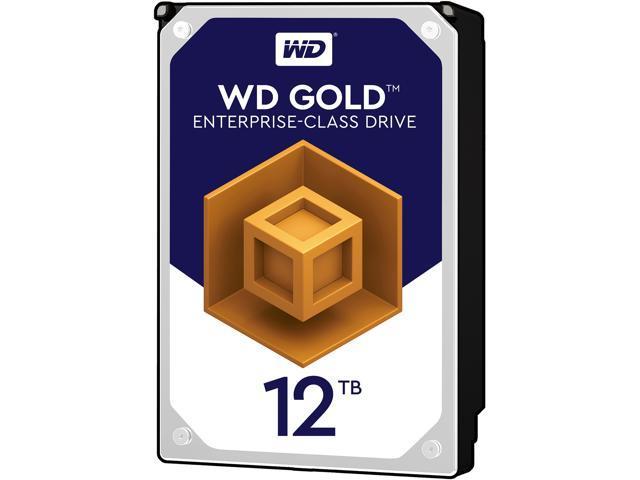 WD Gold 12TB Enterprise Class Hard Disk Drive - 7200 RPM Class SATA 6Gb/s 256MB Cache 3.5 Inch - WD121KRYZ - OEM