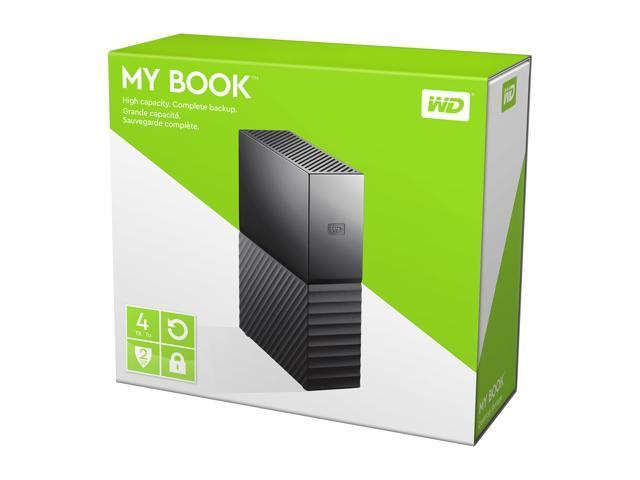 WD My Book 4TB USB 3.0 Desktop Hard Drive WDBBGB0040HBK-NESN Black