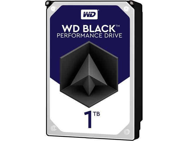 WD Black 1TB Performance Desktop Hard Disk Drive - 7200 RPM SATA 6Gb/s 64MB Cache 3.5 Inch - WD1003FZEX - OEM