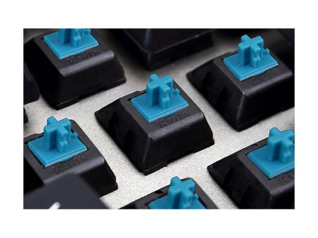 Nixeus MK-104BL16 MODA PRO Mechanical Keyboard - Blue Switch (Clicky Tactile)
