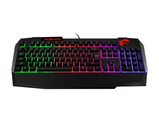 MSI Vigor GK40 Wired RGB Gaming Keyboard