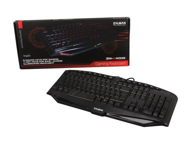 Zalman K400G Gaming keyboard