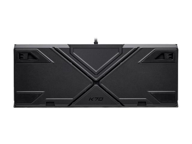 Corsair K70 RGB MK.2 Cherry MX Red Mechanical Gaming Keyboard with RGB LED Backlit - CH-9109010-NA