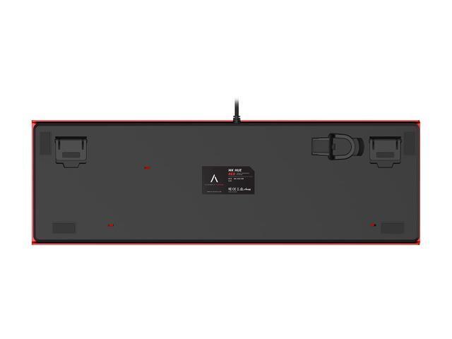 AZIO MK HUE Red USB Backlit Mechanical Keyboard
