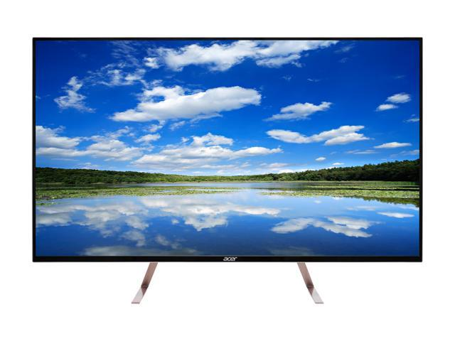 "Acer ET0 Series ET430K wmiiqppx 43"" IPS 5ms (GTG) 60 Hz 4K 3840 x 2160 UHD, LED Backlight, AcerVisionCare, Acer Flicker-less, and Acer BlueLightShiled, Built-in Speakers"