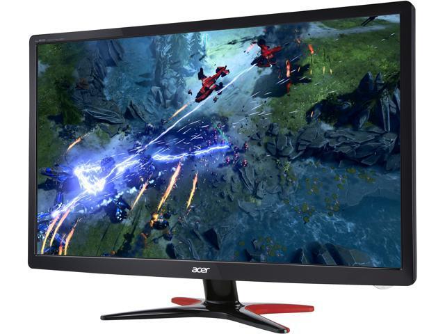 "Acer GF246 bmipx Black 24"" Full HD Gaming Monitor, 75Hz, 1ms (GTG), AMD FreeSync, Built-in Speakers, HDMI, DisplayPort, Blue Light Filter, Flicker-less"