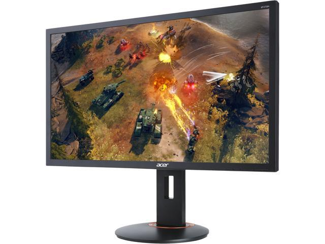 "Acer XF270H Abmidprzx Black 27"" Full HD Gaming Monitor, 240Hz, 1ms (GTG), AMD FreeSync, Height & Pivot Adjustment, Built-in Speakers, HDMI 2.0, DisplayPort, USB 3.0x4"