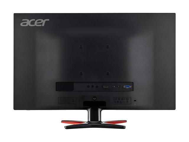 "Acer GF276 Abmipx Black 27"" Full HD Gaming Monitor, 75Hz, 1ms (GTG), AMD FreeSync, Built-in Speakers, HDMI, DisplayPort, Blue Light Filter, Flicker-less"