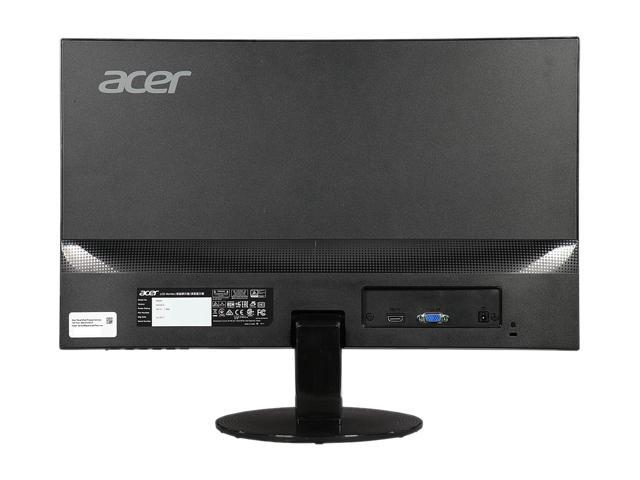 "Refurbished: Acer Manufacturer Refurbished UM.VS0AA.002-Grade A Black 23"" 4 ms HDMI Widescreen LED Backlight LCD/LED IPS FHD Monitor  SA230 bi Certified Refurbished A Grade. Like New."