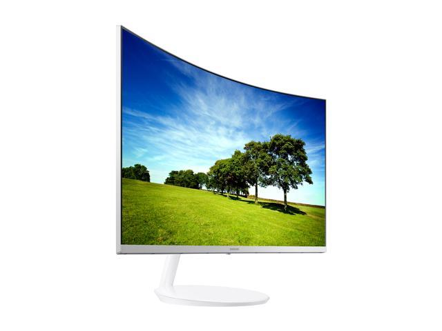 "Samsung C27H711 27"" WQHD 2K 2560 x 1440 FreeSync White Curved Monitor, HDMI, Mini DisplayPort"