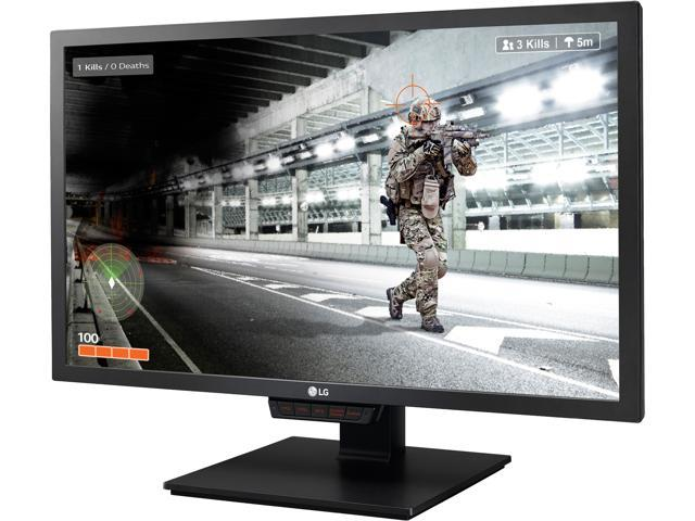 "LG 24GM79G-B 24"" Black FreeSync Gaming Monitor, 1920 x 1080 144 Hz Refresh Rate, 1ms (MBR), 350 cd/m2, HDMI, DisplayPort, USB 3.0, Height Adjustable, On-screen Control"