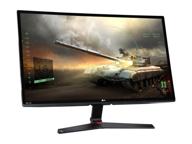 "LG 27MP59G 27"" Full HD Black IPS FreeSync Gaming Monitor, 1920 x 1080, 16:9 Aspect Ratio, 75 Hz Refresh Rate, 5ms GTG / 1ms MBR Response Time, On-screen Control, 4 Screen Split, HDMI, DP, D-Sub"