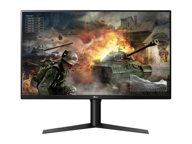 "LG 32GK850G Black 31.5"" QHD 1440p 5ms 144Hz NVIDIA G-Sync Gaming Monitor, 350nits(typ), HDMI, Display Port, USB3.0, Tilt, Swivel, Pivot, Height Adjustable"
