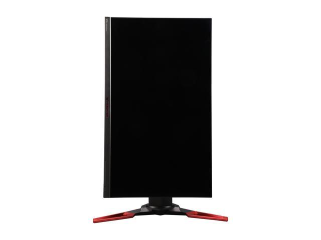 "Acer Predator XB271HU 27"" WQHD IPS NVIDIA G-Sync Black/Red Gaming Monitor, 2560 x 1440 (2K), 144 Hz w/ Overclocking to 165 Hz, Tilt/Swivel/Pivot/Height Adjustable, Build in Speakers"