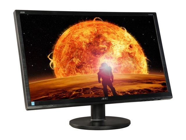 "AOC G2460FQ Black / Red 24"", 144Hz 1ms (GTG) HDMI Widescreen LED Backlight LCD Monitor"
