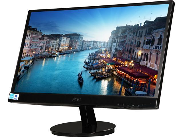 "Refurbished: AOC I2269VW-BRW Black 21.5"" 5ms Widescreen LED Backlight LED Monitor 250 cd/m2 DCR 50,000,000:1"
