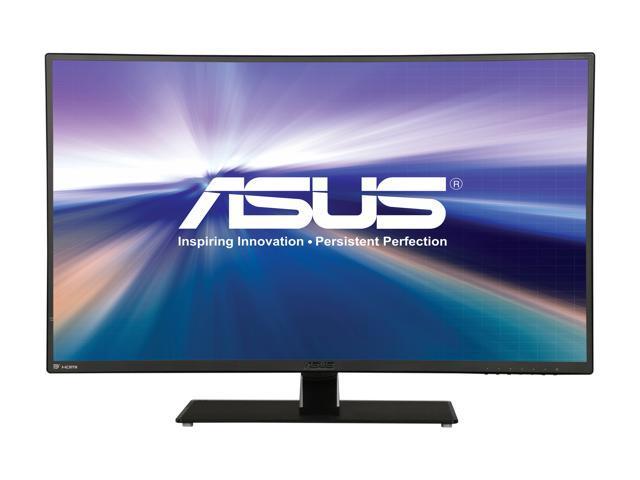"Refurbished: ASUS VA32AQ Black 31.5"" 5ms (GTG) HDMI Widescreen LED Backlight LCD Monitor IPS 250 cd/m2 ASCR 100,000,000:1 (1,200:1) - OEM"