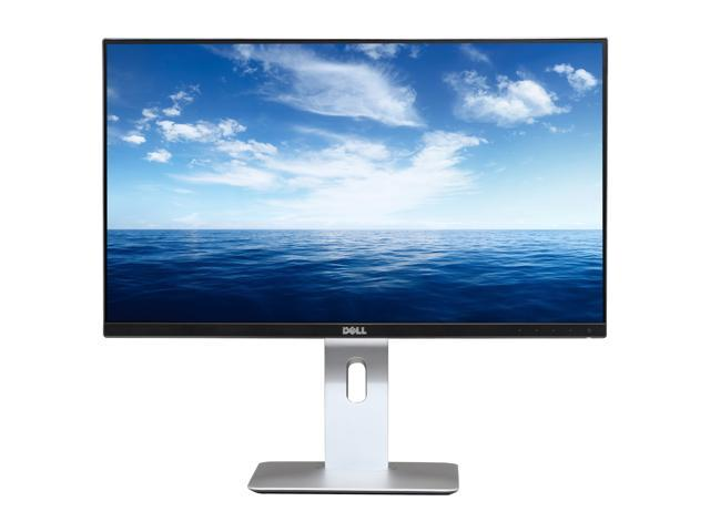 "Dell UltraSharp U2414H Black 23.8"" Widescreen LED Backlight LCD IPS Monitor, 1920 x 1080, 1000:1, 250cd/m2, HDMI&DVI&USB Display Port, VESA Mountable"