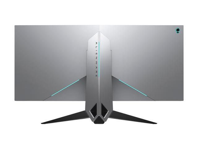 "Dell Alienware AW3418DW 34"" Curved 1900R WQHD 4ms(GTG) 120Hz NVIDIA G-Sync Gaming Monitor, 300 cd/m2, DP, HDMI, USB3.0, Tilt, Swivel, Height-Adjustable"