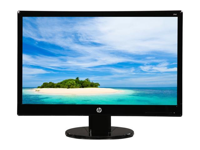 Refurbished: HP 21KD 20.7-inch FULL HD LED Backlit Monitor (Black)  200 nits 1920x1080 VGA and DVI-D Ports, Certified Refurbished (Grade A)