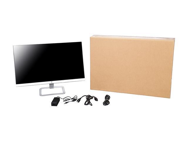 """Refurbished: HP 27es Silver / Black 27"""" 7ms (GTG) Widescreen LED Backlight LCD 1080p Monitor IPS"""