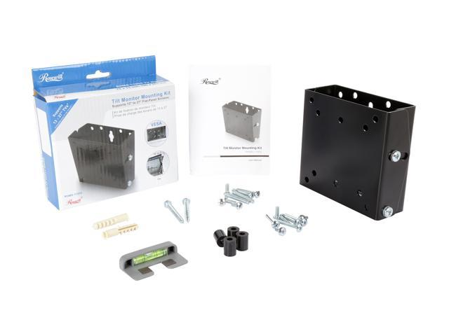 "Rosewill RHMS-11004 - 13"" - 27"" Flat-Panel Monitor Tilt Mounting Kit"