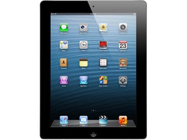 "Refurbished: Apple iPad 4 MD510LL/A-B 9.7"" Retina Touchscreen 16 GB Apple A6 1.40 GHz iOS 6 Wi-Fi Only Black (B Grade)"