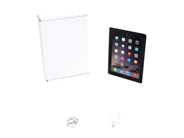 "Refurbished: Apple iPad 4 MD510LL/A 9.7"" Retina Touchscreen 16 GB Apple A6 1.40 GHz iOS 10 Wi-Fi Only Black (B Grade)"