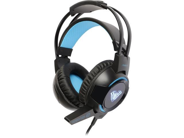 Aula USB Wired Gaming Headset with Logo Light + Vibration Effect