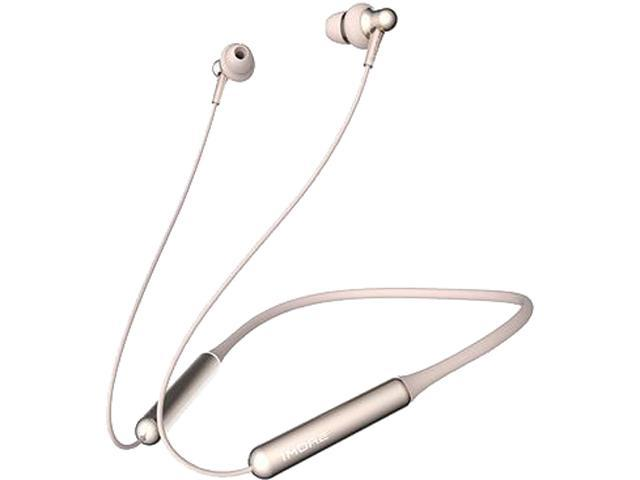 1MORE Stylish Dual-dynamic Driver BT In-Ear Headphones Wireless Bluetooth Earphones with 4 Stylish Colors, High Fidelity Wireless Sound, Long Battery Life, Comfortable Wearing and Mic - Gold
