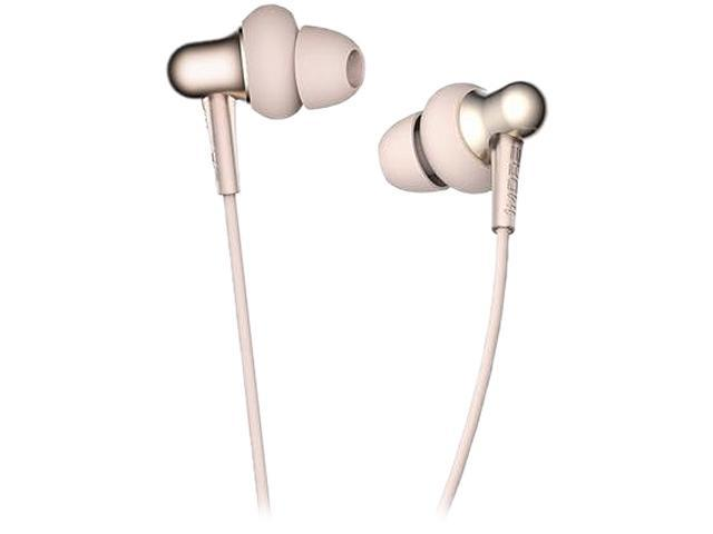 1MORE Gold E1025-GD 3.5mm Connector Stylish Dual-dynamic In-ear Headphones
