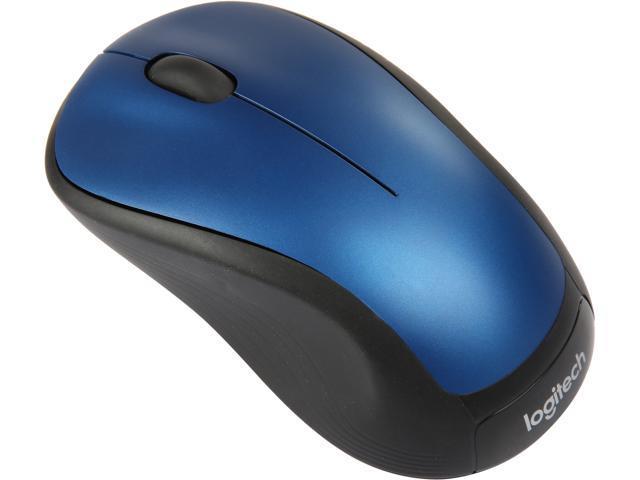 Refurbished: Logitech M310 Peacock Blue RF Wireless Laser Mouse - 910-001917