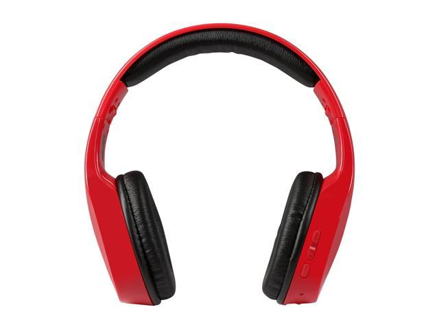 Targus TA12910-RED-OD Bluetooth Wireless Over-Ear Headphones - Red