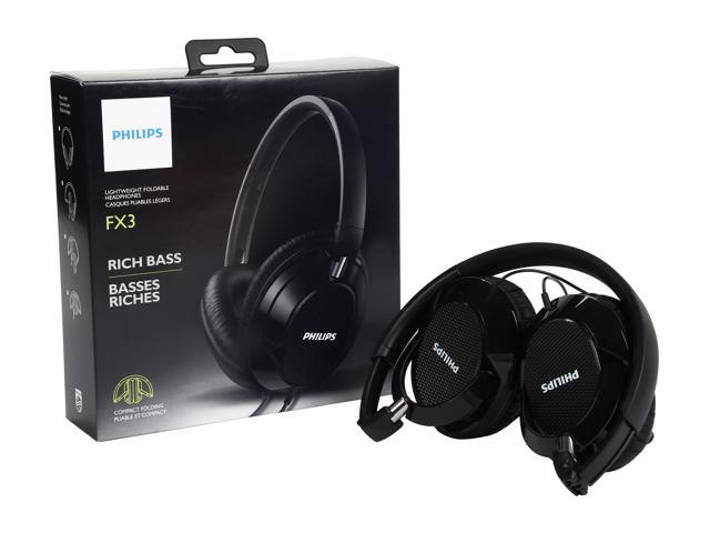 PHILIPS FX3BK Over-ear Headphone - Black