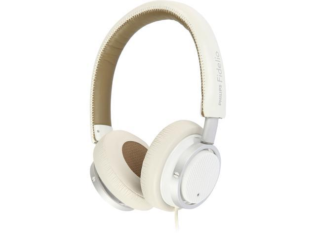 PHILIPS Fidelio M1MKIIWT/27 Circumaural Headphones with Microphone, white