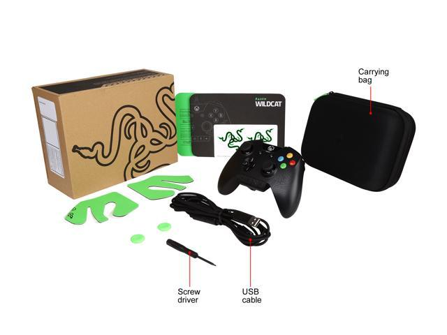 Refurbished: Razer RZ06-01390100-R3M1 Wildcat Xbox One/PC Controller - OEM