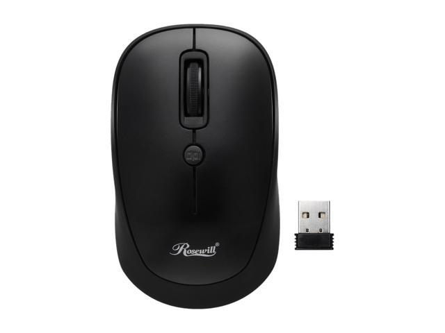 efc40b63ba3 Rosewill Wireless Optical Computer Mouse, Compact, Travel Friendly, Office  Style, Adjustable DPI ...