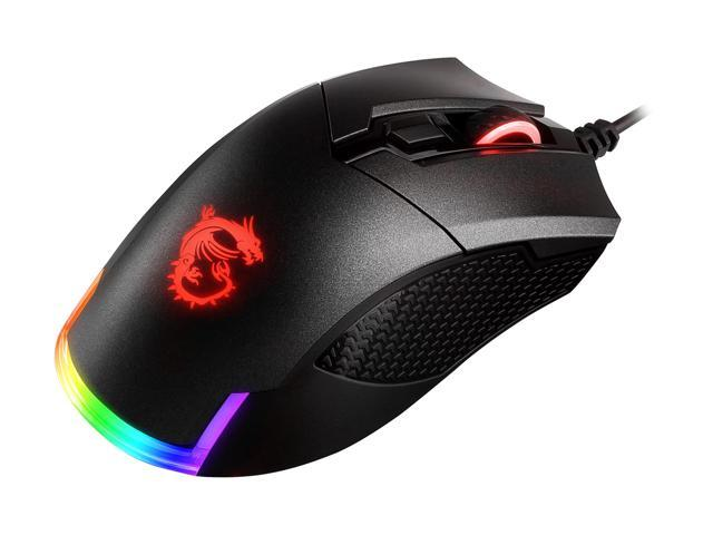 MSI CLUTCH GM50 Black Optical Gaming Mouse