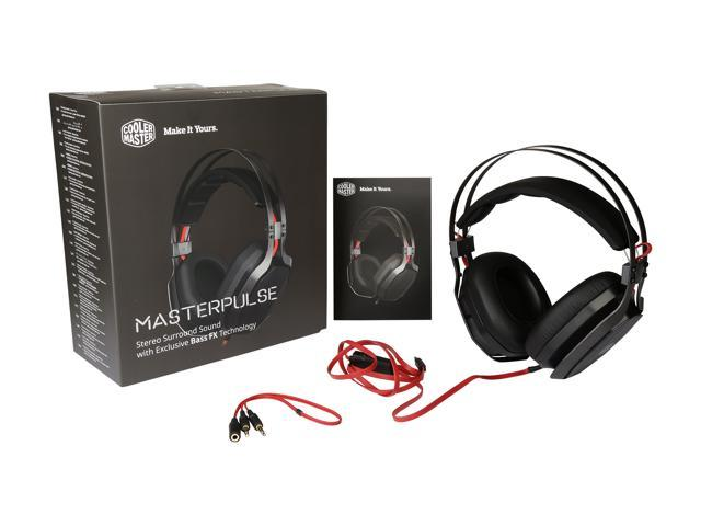 Cooler Master MasterPulse 2.0 Channel Stereo Sound with Bass FX Exclusive Technology