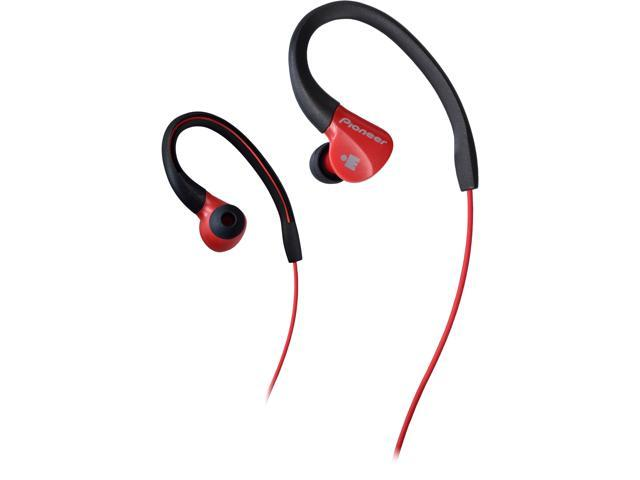 Pioneer SE-E3M IRONMAN Sports Earphones - Red / Black
