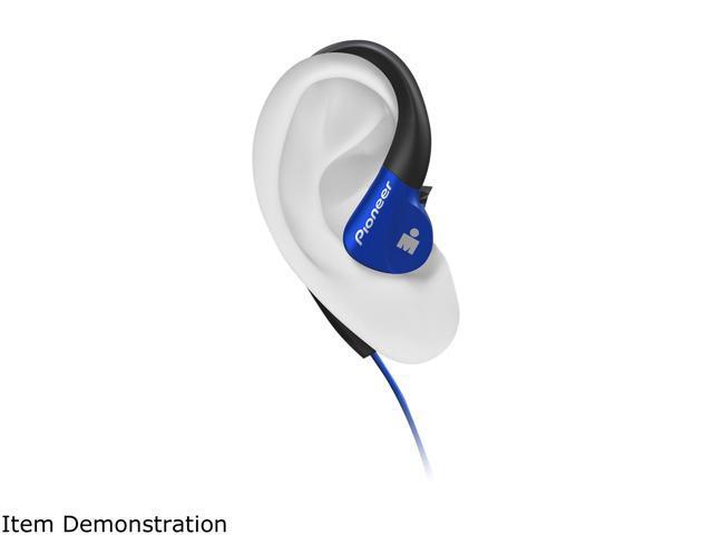 Pioneer SE-E3M IRONMAN Sports Earphones - Blue / Black